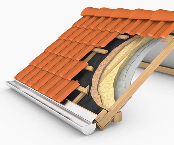Energie sparen - Dach dämmen